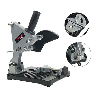 Electric Angle Grinder Stand Cutter Support Bracket Holder Dock Cast Iron Tools