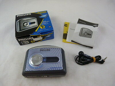 vintage: PHILIPS walkman cassette player aq6401 dynamic bass boost