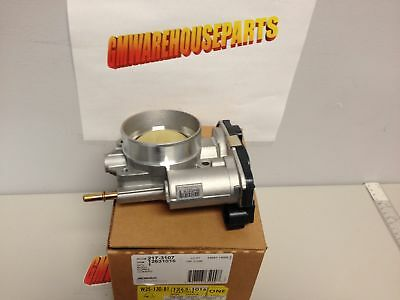 2008-2012 COLORADO CANYON 3.7 THROTTLE BODY WITH ACTUATOR NEW GM # 12631016