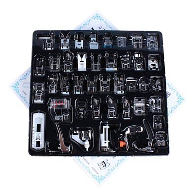 Sewing Machine Presser Foot Multi-Functional 42 Pieces Presser Foot Kit BS
