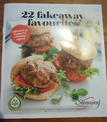 Slimming World Booklet 22 'Fakeaway Favourites' Recipes