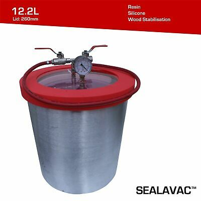 SealvacTM Vacuum Degassing Chamber 12.2L, 2.68 US Gallon