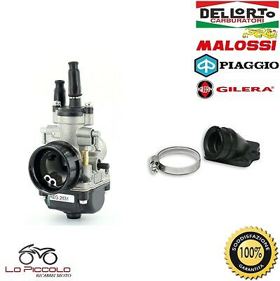 Carburatore Dell'orto Phbg 19 Ds + Collettore Malossi Gilera Stalker 50 2T