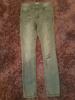 Boys grey distressed skinny jeans from Next age 11 years Excellent new condition