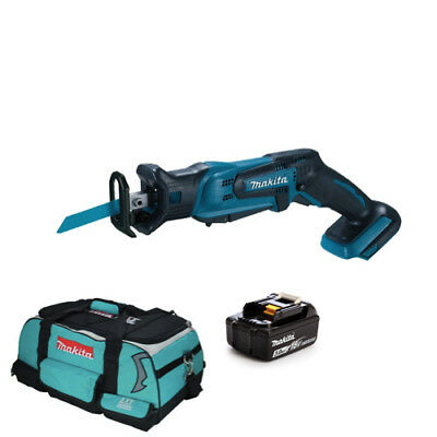 Makita DJR185Z 18V Cordless li-ion Mini Reciprocating Saw 1 BL1830 + LXT400 Bag