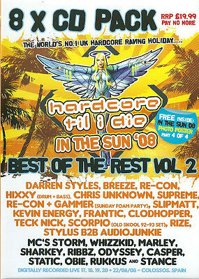 Hardcore Til I Die - In The Sun '08 (Best Of The Rest Vol 2) - 8x CD Pack