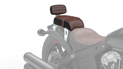Indian Scout Bobber passenger Seat With Sissy Bar