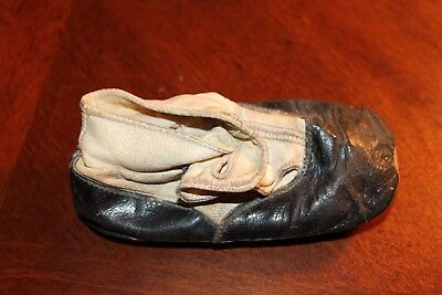 antique primitive very old 1 baby shoe
