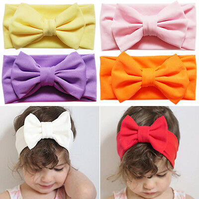 Cute Toddler Bow Headband Hair Band Accessories Headwear For Baby Kids Girl Braw