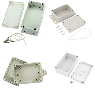Waterproof ABS Plastic Electronics Instrument Project Gehege Box Cover BAF
