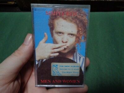 SIMPLY RED_Men And Women_used cassette_ships from AUS!_zz78_Z3