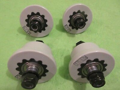 4 TOTAL GYM Roller Wheels Total Gym 1400 . Complete Assembly