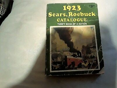 1923 Sears Roebuck Catalogue Collectible Antique Thrift Book Of A Nation