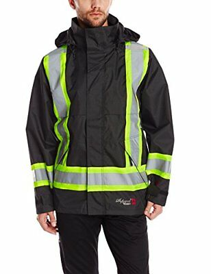 Viking Professional Journeyman FR Waterproof Flame Resistant Jacket Black XL