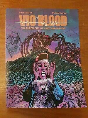 1989, Vic and Blood: Chronicles of a Boy and his Dog, Ellison/Corben, NBM