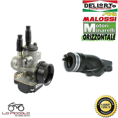 Carburatore Dell'orto Phbg 21 Ds + Collettore Malossi Malaguti F10 F12 50 2T