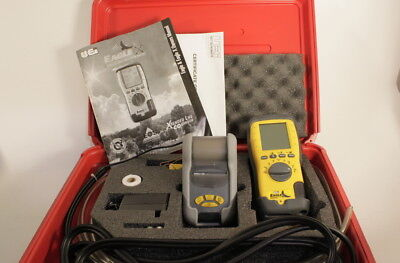 UEi C125 Eagle 2 Combustion Analyzer Kit with Printer & Manual