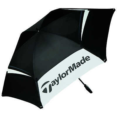 "TaylorMade Double Canopy 68"" Golf Umbrella 2017"