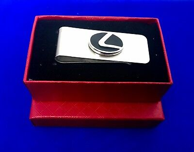 Lexus Bifold Wallet Leather Men S Credit Id Card Holder Purse New In