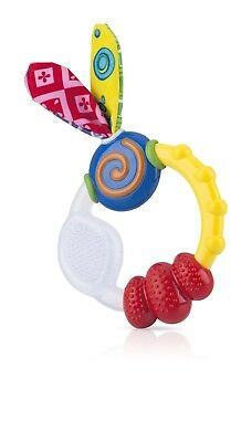 Nuby Wacky Teething Ring Teether NEW Top Quality