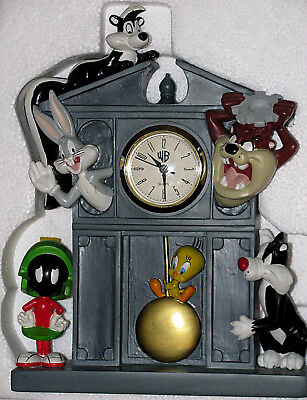 Warner Bros. Studio Store Looney Tunes Grandfather Clock Sammler Extrem Selten