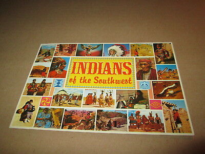 Indians of the Southwest Indianer - Vintage Postkarte