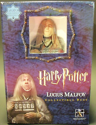 HARRY POTTER LUCIUS MALFOY AZKABAN Bust - Only 550 Made! - SPECIAL SALE !!!