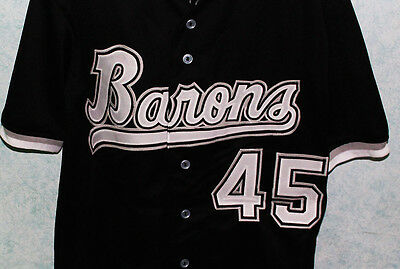 sneakers for cheap e5eed c11c6 MICHAEL JORDAN BIRMINGHAM Barons Baseball Jersey New Authorized Sewn Any  Size