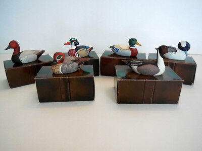 Avon Collector Duck 1984 Series Complete Set of 6-Beautiful!