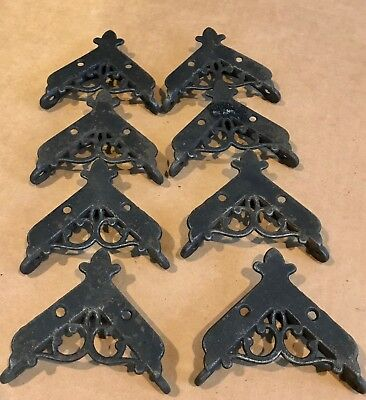 Vintage cast iron brackets
