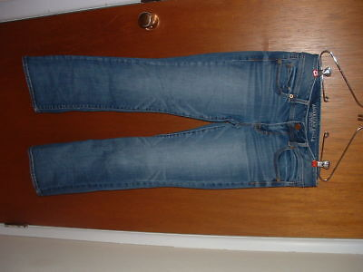 Womens Jeans American Eagle Size 6 Length 30 Inches Kick Boot Super Stretch