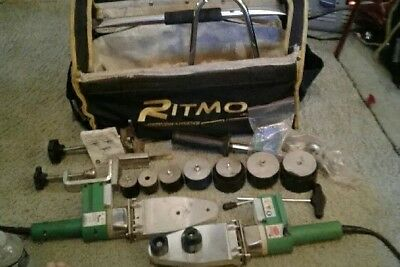 Ritmo R63Tfe Plastic Pipe Welder With Extra Welder And Carrying Bag