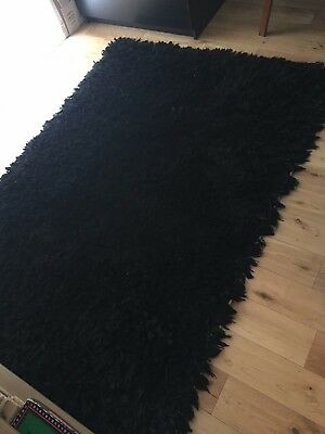 I2k Rugs For Life Long Haired Black Rug Rrp 229