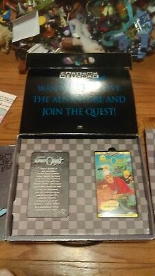 91 classic Jonny quest Cartoon Network Promotional Kit suitcase rare new VHS