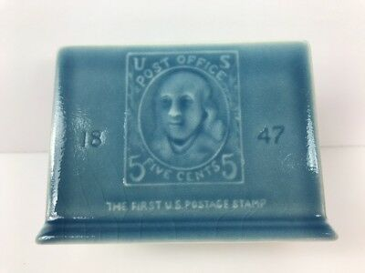 C. 1956 Rookwood 1st US Postage 5c Stamp Letter Holder
