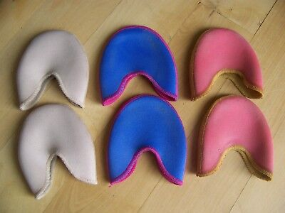 $60 Lot 3 PAIR Bunhead's Ouch Pouch Toe Pads pointe ballet ballerina B