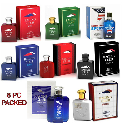 Top 8 Best Selling Cologne Of Men's Racing Club By Mirage Brand 3.4 Oz  Sealed