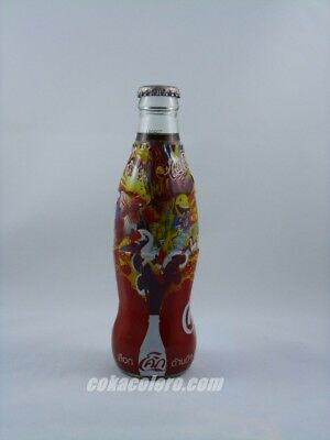 """Coca Cola Thailand Bottle RED rare """"Side Of life"""" 2"""