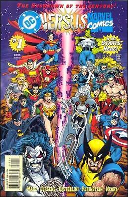 DC Vs Marvel  #1 to 4 Complete  NM- to NM/M