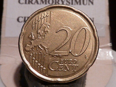 5Cl(121) - Belgique - 20 Cents - 2009 - Importants Surplus ! A Voir !