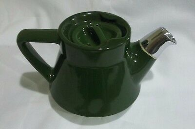 Hall Green Restaurant Ware Individual Teapot Chrome Spout