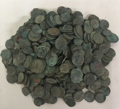 Lot Of 20 Roman And Imperial Ancient Coins
