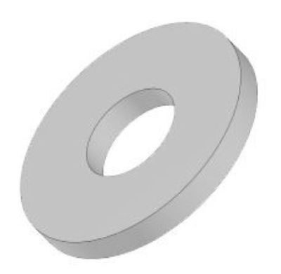"""2"""" ID USS Flat Washers - (Pack of 5)"""