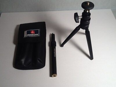 Manfrotto Gruppo 210B / LL03 Portable Tripod with Extender & Case!