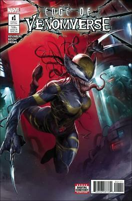Edge of Venomverse (2017)    #1 to 5 Complete     NM- to NM/M