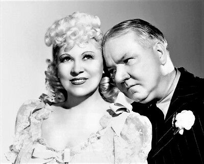 Mae West and W.C. Fields in a promotional photo for My Little Chickadee 1940