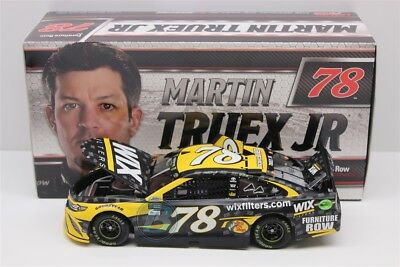Martin Truex Jr #78 2017 Wix Filters 1/24 Scale New In Stock Free Shipping