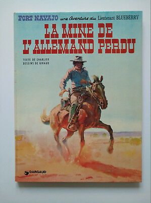 RE 1974 (bel état) - Blueberry 11c (la mine de l'allemand perdu) Giraud Charlier