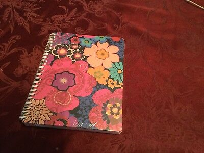 Vera Bradley Mini Notebook in FLORAL FIESTA with pocket NWT's
