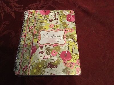"Vera Bradley Mini Notebook in ""MAKE ME BLUSH"" with pocket....New With Tags"